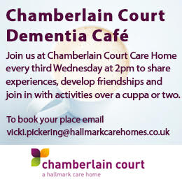 Join us at Chamberlain Court Dementia Cafe